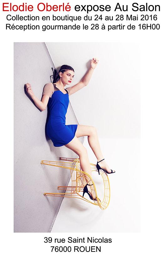Elodie Oberlé expose au salon