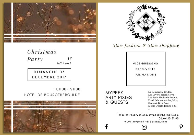 Elodie Oberlé présente à la Christmas Party - Rouen 2017