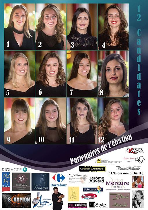 élection miss Rouen 2018