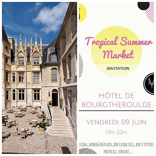 Tropical Summer Market à Rouen