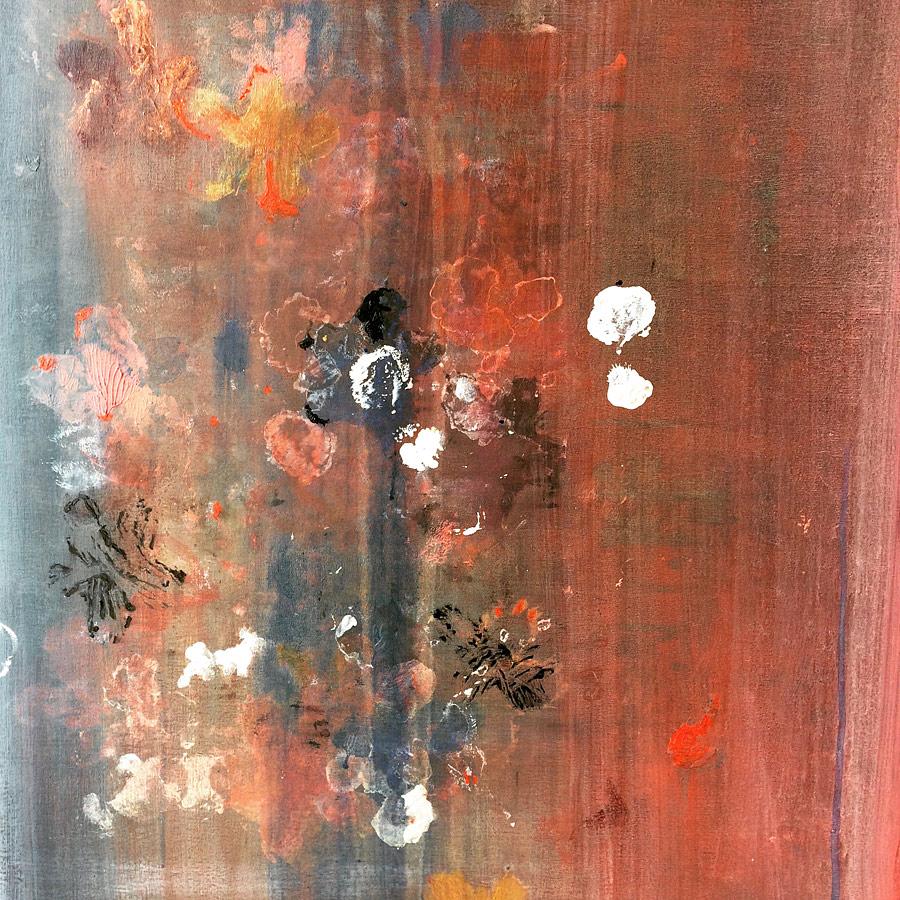 """""""Faire tapisserie """"- Technique mixte sur toile - 60x80cm  , by Elodie Oberlé , by Elodie Oberlé"""