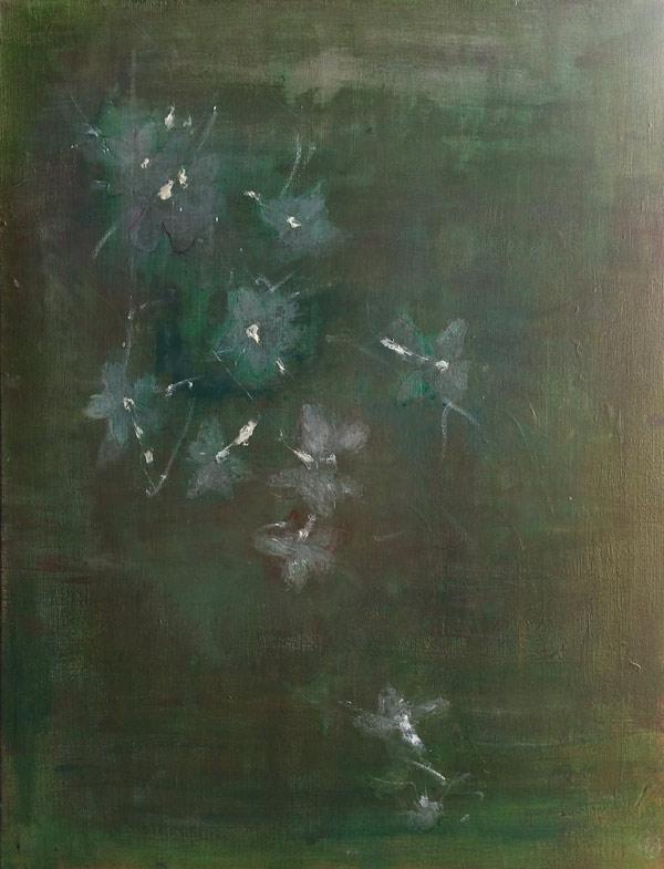 Green Love - peinture par Elodie Oberlé