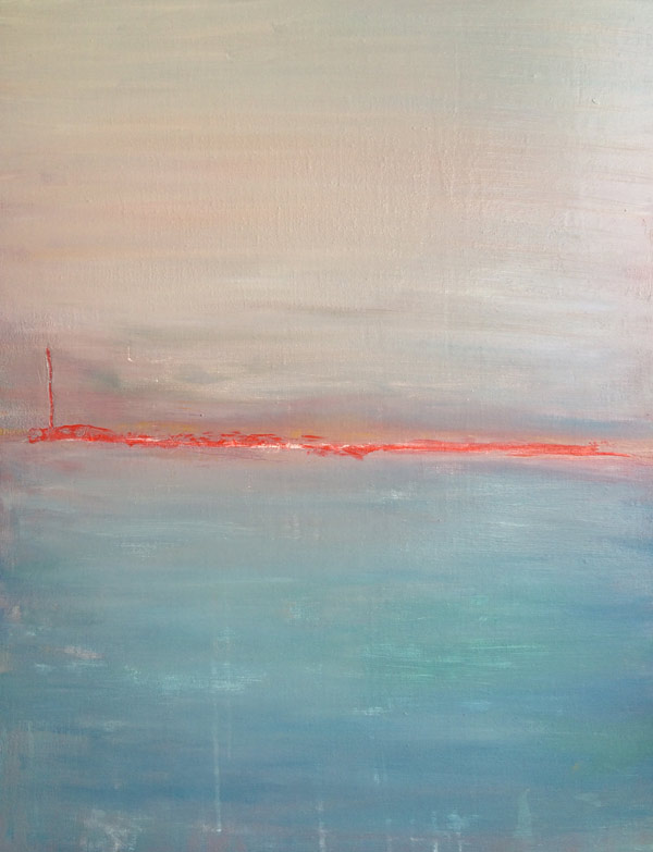 Nowhere - peinture Elodie Oberlé