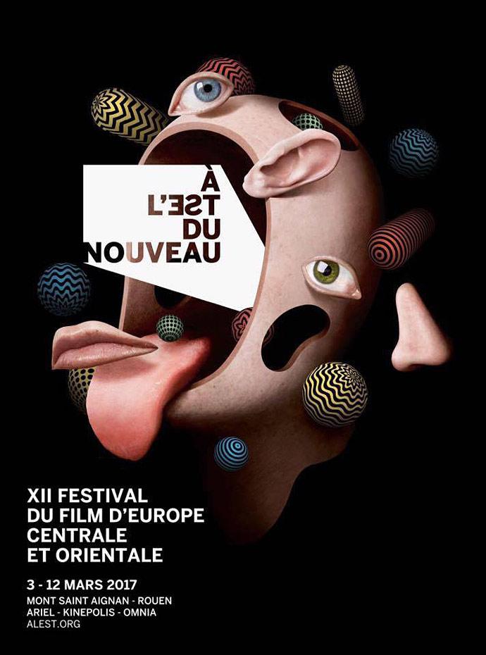 Festival A l'Est du nouveau - affiche