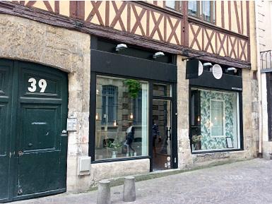 Vitrine au salon Rouen