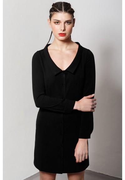 Robe chemisier soir-coton