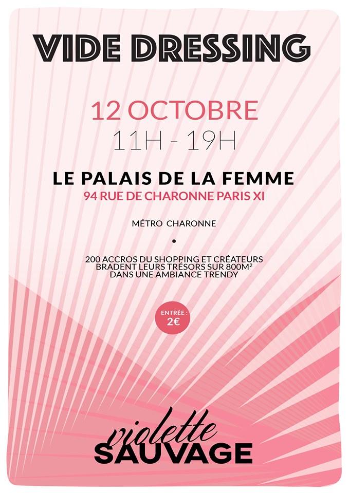 Vide dressing au palais de la femme - paris