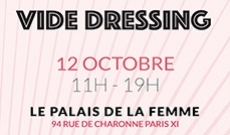 Vide dressing le 12 octobre 2019 à Paris